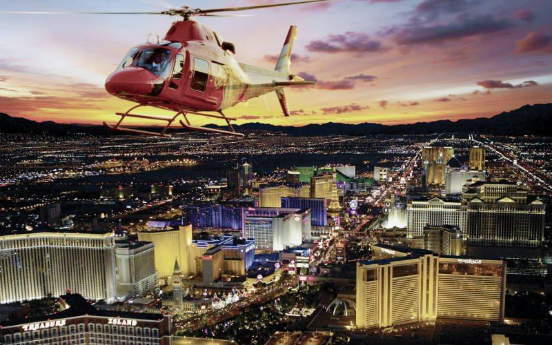 Deciding On A Las Vegas Strip Helicopter Tour  We Have Compared Them Side By