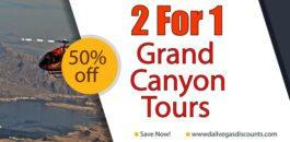 2 For 1 Grand Canyon Tours